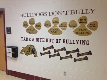 Bulldogs Don't Bully Wall